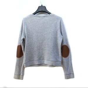 BDG soft knit elbow patch sweater • XS